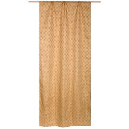 Купить Штора на ленте Сандал 145х280 см цвет светло-бежевый дешевле