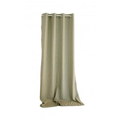 Штора на ленте Sarov 140х260 см жаккард цвет коричневый