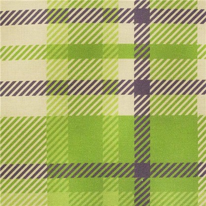 Штора на ленте Села 160х180 см цвет зеленый