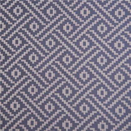 Штора на ленте Шалле 160х260 см цвет синий