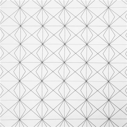 Штора на ленте Схема 3 145х260 см цвет белый