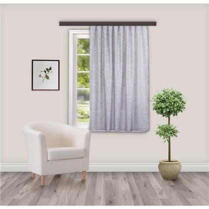 Штора на ленте Софт 135х180 см цвет серый
