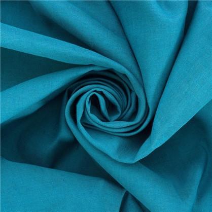 Штора на ленте Ундина 145х260 см цвет бирюзовый