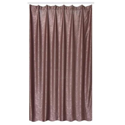 Штора на ленте Васто 200х280 см цвет шоколадный