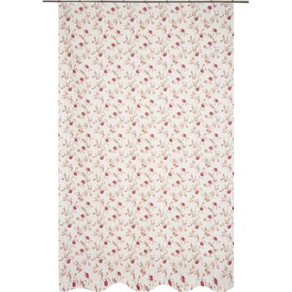 Купить Штора на ленте Жасмин 160х260 см цвет бордовый дешевле