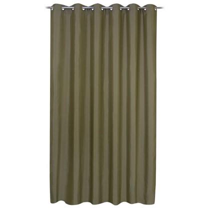 Штора на люверсах Атена 200х280 см цвет зеленый