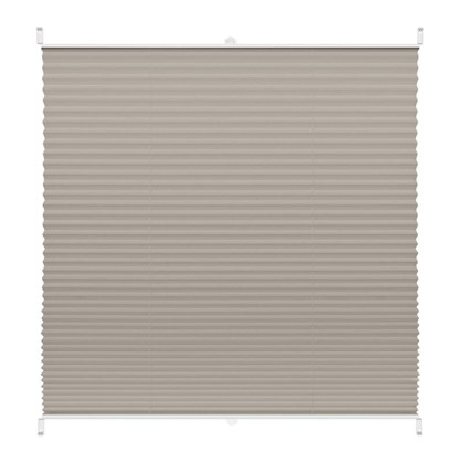 Штора плиссе Плайн 55х160 см текстиль цвет серый