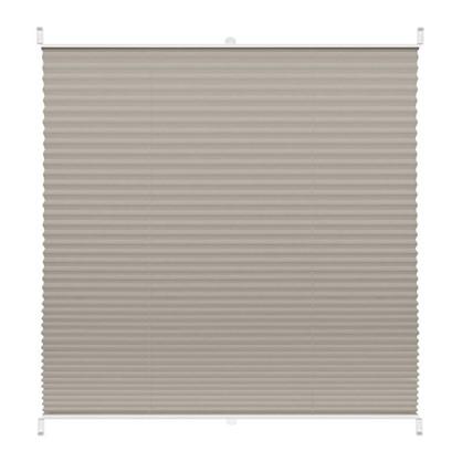 Штора плиссе Плайн 65х160 см текстиль цвет серый