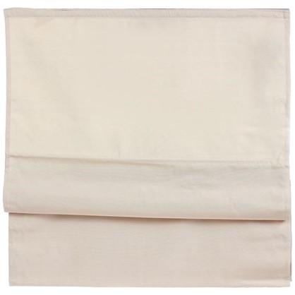 Купить Штора римская Лея 160х160 см цвет кремовый дешевле