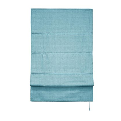 Штора римская Натур 100х175 цвет синий