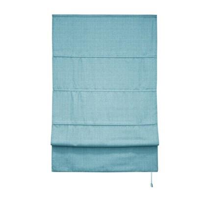 Штора римская Натур 140х175 цвет синий