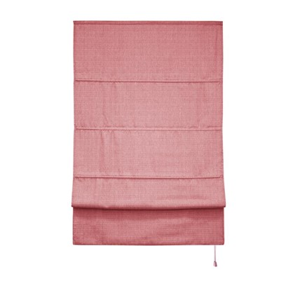 Штора римская Натур 180х175 цвет розовый