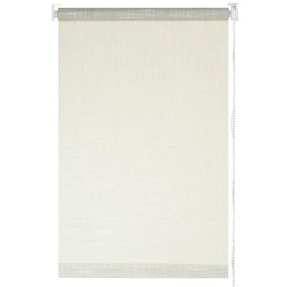 Купить Штора рулонная 120х160 см шантунг цвет серый дешевле