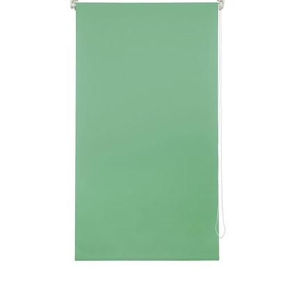 Купить Штора рулонная 50х160 см цвет зеленый дешевле