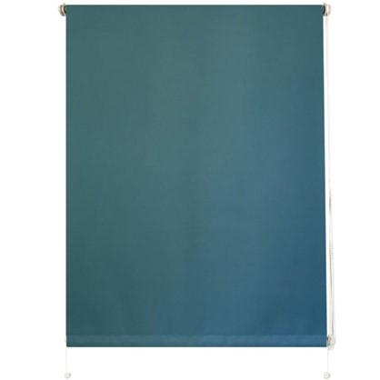 Штора рулонная Blackout Inspire 100х160 см цвет голубой
