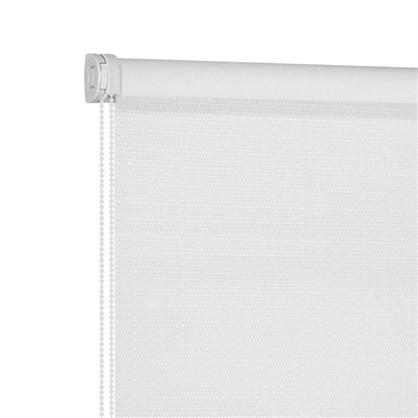 Штора рулонная Blackout Шалюр 40х160 см цвет белый