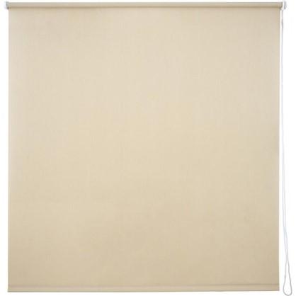 Штора рулонная Inspire Меланж 140х175 см цвет кремовый
