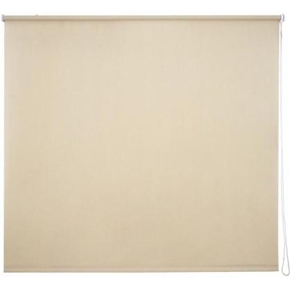 Штора рулонная Inspire Меланж 160х175 см цвет кремовый