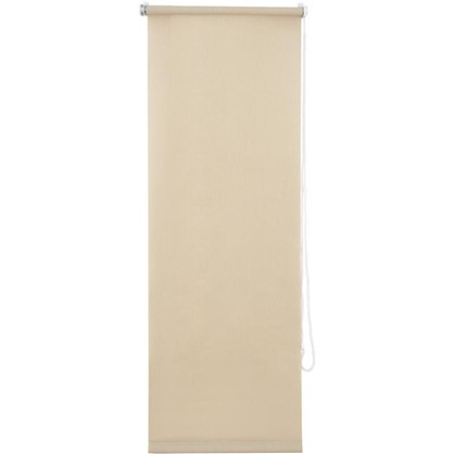 Штора рулонная Inspire Меланж 40х160 см цвет кремовый