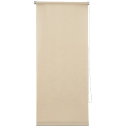 Штора рулонная Inspire Меланж 50х160 см цвет кремовый