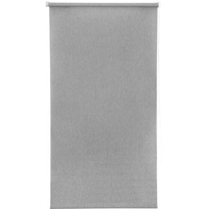 Купить Штора рулонная Inspire Меланж 70х160 см цвет серый дешевле
