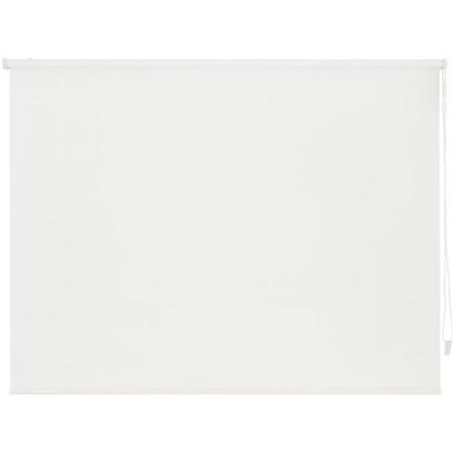 Купить Штора рулонная Inspire Шантунг 200х175 см цвет белоснежный дешевле
