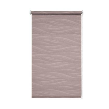 Штора рулонная Муар 140х175 см цвет розовый антик