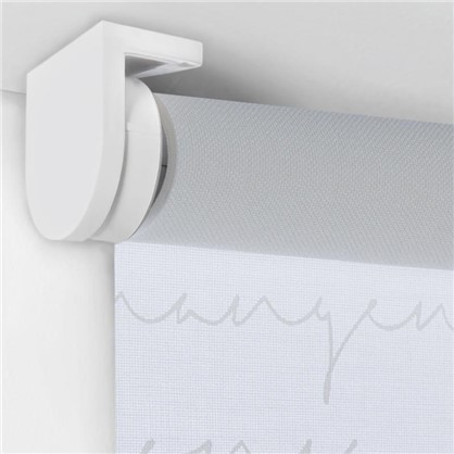 Штора рулонная Письмо 40х160 см цвет белый
