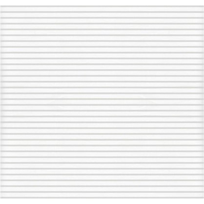 Штора рулонная Полосы 40х160 см цвет белый