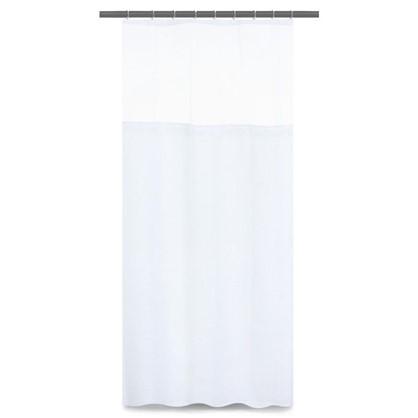 Купить Шторка для ванной Hotel 180х180 см цвет белый дешевле