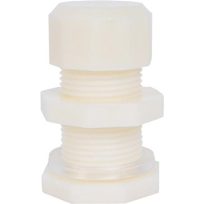 Штуцер для бочки 19 мм для всех видов капельных систем