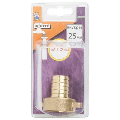 Купить Штуцер рельефный 19 мм кран 1 дюйм дешевле