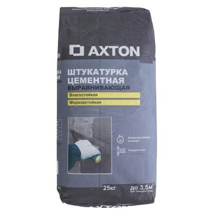 Штукатурка цементная Axton 25 кг