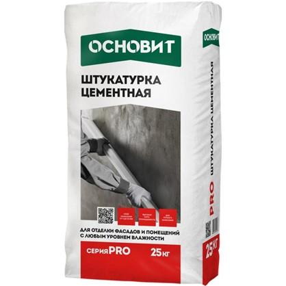 Штукатурка цементная Основит Pro 25 кг