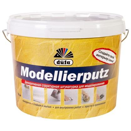 Штукатурка декоративная Dufa Modellierputz 18 кг цвет белый