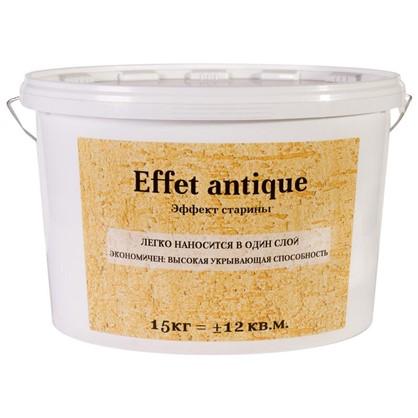 Штукатурка декоративная Effet antique 15 кг эффект старины