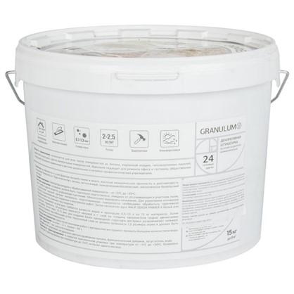 Штукатурка декоративная мраморная Granulum L500 15 кг