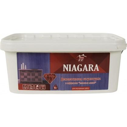 Штукатурка декоративная Parade Ice Niagara 5 кг цвет белый