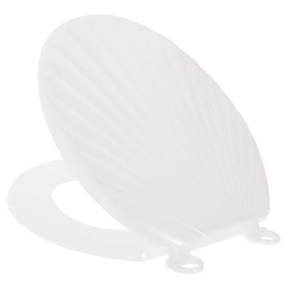 Сиденье для унитаза Орио ракушка цвет  перламутровый