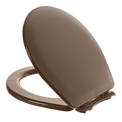 Сиденье для унитаза Орио универсальное цвет коричневый
