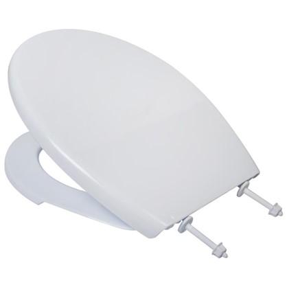 Сиденье для унитаза Виктория цвет белый