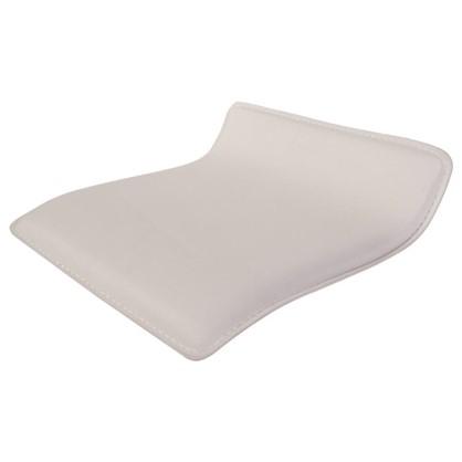 Сидение для барного стула прямоугольное цвет белый