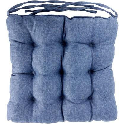 Купить Сидушка Савана 40x36 см цвет синий дешевле