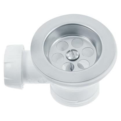 Купить Сифон для мойки Wirquin с переливом и отводом для стиральной машины d 70 мм дешевле