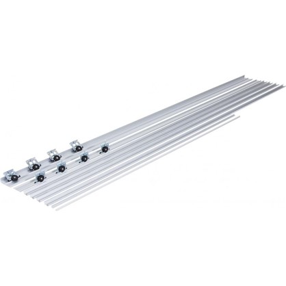 Система для раздвижных дверей Betta 1800 мм для 2 дверей цвет серебро