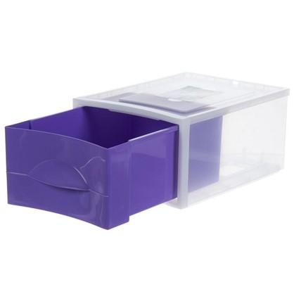 Купить Система хранения Мобиле 380x267x178 мм цвет фиолетовый дешевле