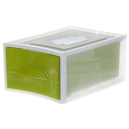 Купить Система хранения Мобиле 380x267x178 мм цвет оливковый дешевле