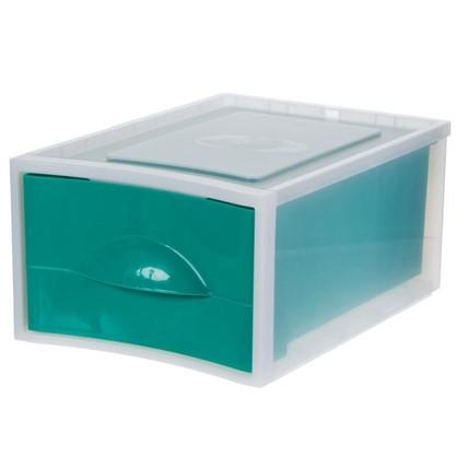 Купить Система хранения Мобиле 380x267x178 мм цвет зеленый дешевле