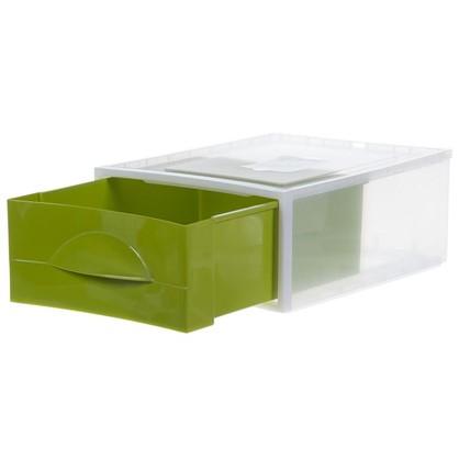 Купить Система хранения Мобиле 475x342x178 мм цвет оливковый дешевле