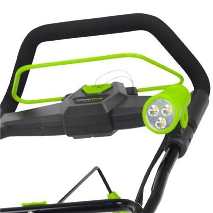 Купить Снегоуборщик GreenWorks аккумуляторный 40 В 4 Ah безщёточный двигатель зарядное устройство в комплекте дешевле